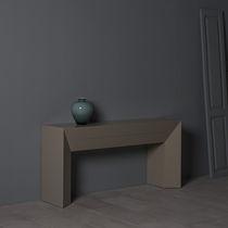 Consola moderna / de madera / rectangular