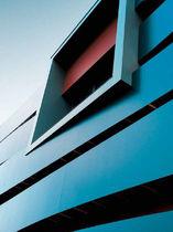 Revestimiento de fachada de material compuesto / lacado / mate / texturado
