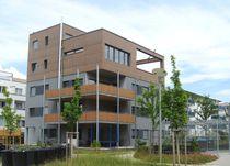 Revestimiento de fachada de material compuesto / oxidado / envejecido / de panel