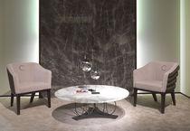 Mesa de centro clásica / de mármol / redonda / de interior