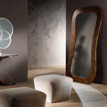 Espejo de pie / moderno / rectangular / de nogal