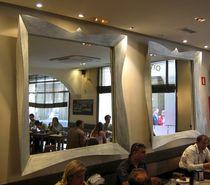 Espejo de pared / de diseño nuevo barroco / rectangular / cuadrado