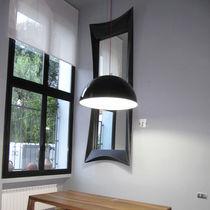 Espejo de pared / de diseño original / rectangular / cuadrado