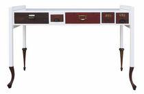 Escritorio de roble / de madera lacada / de diseño original / a medida