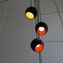 Lámpara suspendida / de diseño original / de caucho / de interior