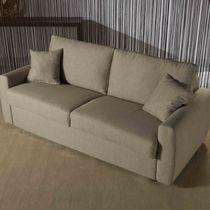 Sofá cama / moderno / de tejido / 3 plazas