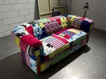 Sofá Chesterfield / de algodón / de terciopelo / de seda