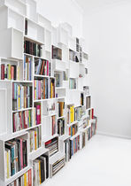 Biblioteca modular / moderna / de MDF