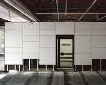 Revestimiento de fachada liso / de panel / para fachada ventilada