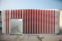 Revestimiento de fachada de hormigón reforzado con fibra / 3D / de panel