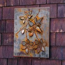 Panel decorativo de aluminio / de acero / de pared / 3D