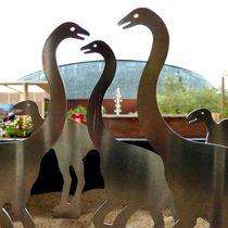Escultura de aluminio / para espacio público / de exterior