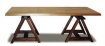 Mesa moderna / de madera / de jardín