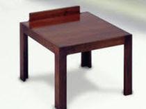 Mesita auxiliar moderna / de madera