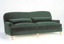 Sofá clásico / de tejido / 2 plazas / verde