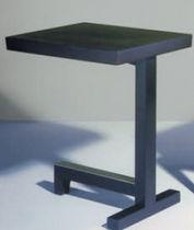 Mesita auxiliar moderna / de madera / rectangular