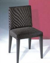 Silla moderna / tapizada / de tejido