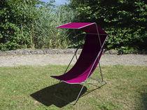 Chaise longue de acero inoxidable / outdoor