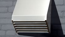 Rejilla de ventilación de metal / rectangular / para cocina
