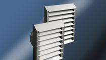 Rejilla de ventilación de acero inoxidable / rectangular / para cocina