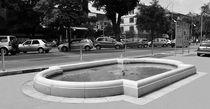 Fuente pública / de hormigón / de mármol / moderna