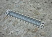 Proyector LED / para espacio público / de exterior / encastrado