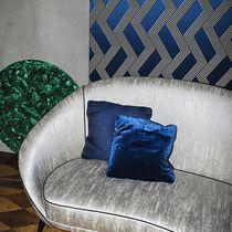 Tela para cortinas / con motivos geométricos / de seda / de poliéster