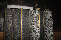 Tela de tapicería / con motivos / de seda / Jacquard
