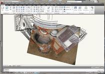 Programa fotogramétrico / de CAD / de diseño / de estimación métrica
