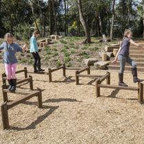 Barra de equilibrio para parque infantil