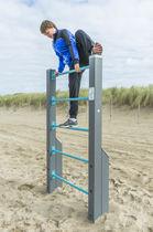 Escalera elevada para recorrido deportivo / de madera / de acero