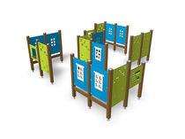 Laberinto para parque infantil