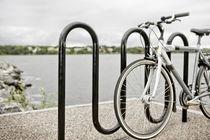 Soporte para bicicletas para suelo / de acero