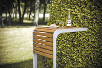 Mesa de diseño escandinavo / de madera / cuadrada / para parvulario