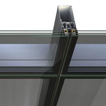 Muro cortina de vidrio estructural