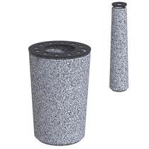 Bolardo de protección / de acero / de plástico / de granito