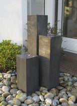 Fuente de jardín / de zinc