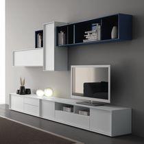 Mueble TV moderno / de madera lacada / modular