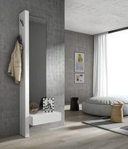 Mueble de entrada moderno / mural / de madera