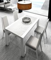 Mesa de comedor / moderna / de madera / rectangular