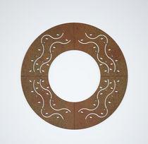 Cubrealcorques de acero galvanizado / de acero COR-TEN® / cuadrado / redondo