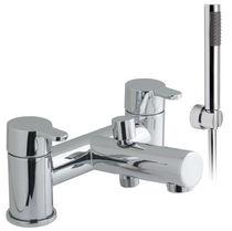 Grifo monomando para bañera / para ducha / de metal cromado / para baño