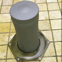 Bolardo antiestacionamiento / de hierro fundido / amovible / semiautomático