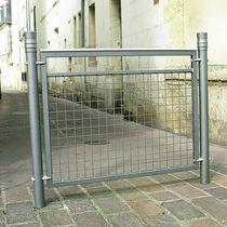 Barrera de protección / fija / de aluminio / de malla metálica