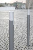 Bolardo de protección / de aluminio / de acero / amovible