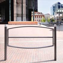 Barrera de protección / fija / de aluminio / para espacio público