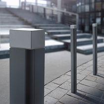 Bolardo de protección / de aluminio / de hierro fundido / amovible