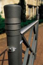 Barrera de protección / fija / de aluminio / de acero galvanizado