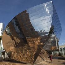 Revestimiento de fachada de aluminio / de titanio / de acero inoxidable / reflectante