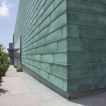 Revestimiento de fachada de cobre / natural / patinado / impreso